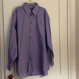 Claiborne purple long sleeve button down size: XL